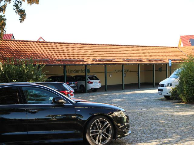 Parkplatz Linderhof Erfurt