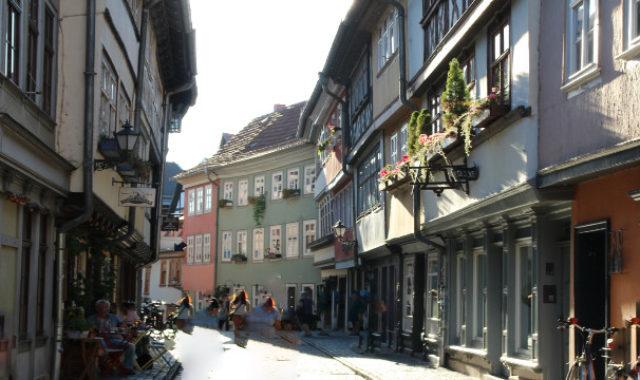 Erfurt Altstadt Fachwerk