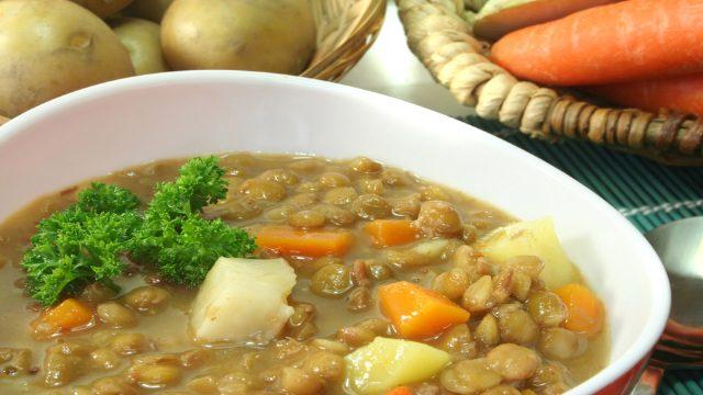 Linsensuppe Regionale Küche