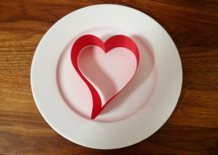 Valentinstag Danke sagen