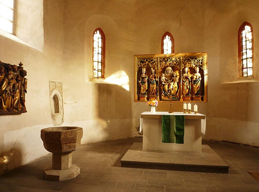 Taufe Kirche Linderbach