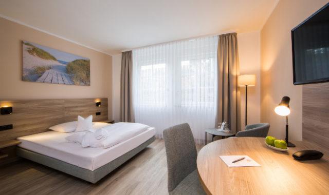 Neues Hotelzimmer