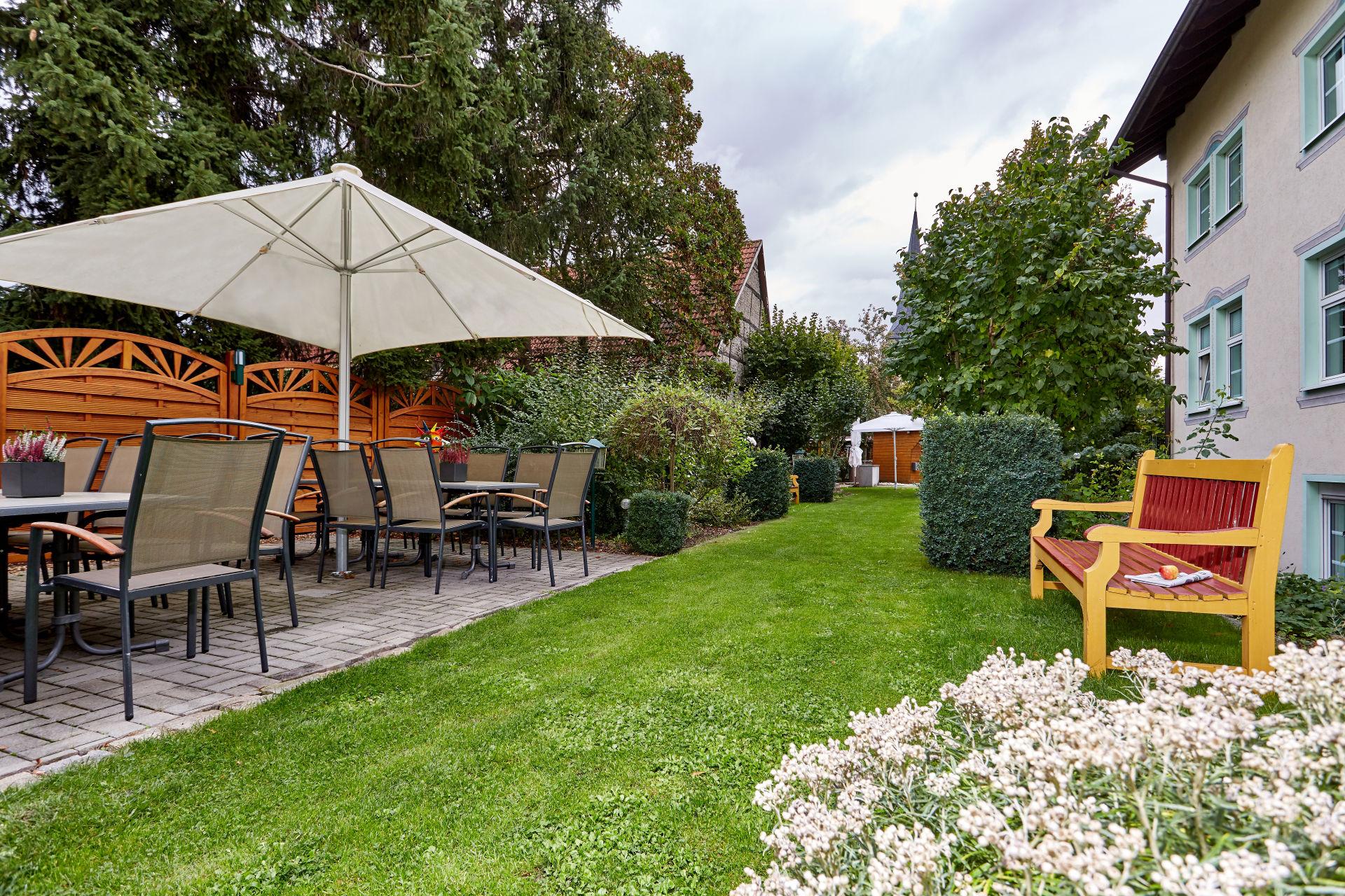 Garten und Terrasse Linderhof